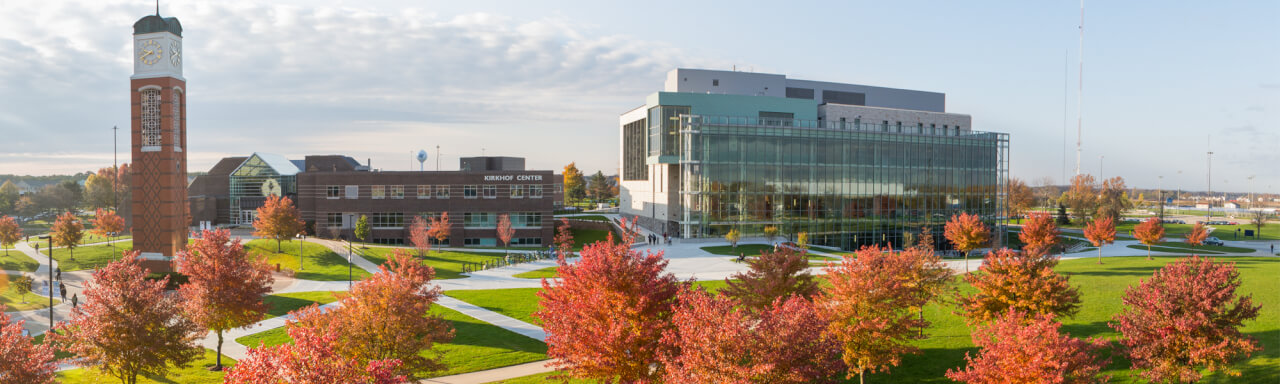 Header image of GVSU Clock Tower